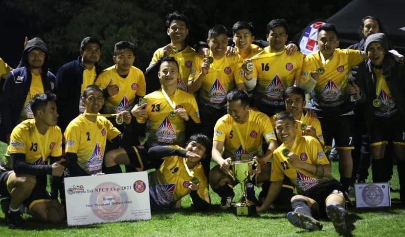"""The one-day 11-A Side football championship """"1ST NFCT CUP 2021"""" was held on 5th September at Metro Soccer Club"""