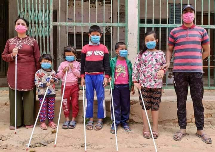 Fundraising program in Australia to support blind people in Nepal