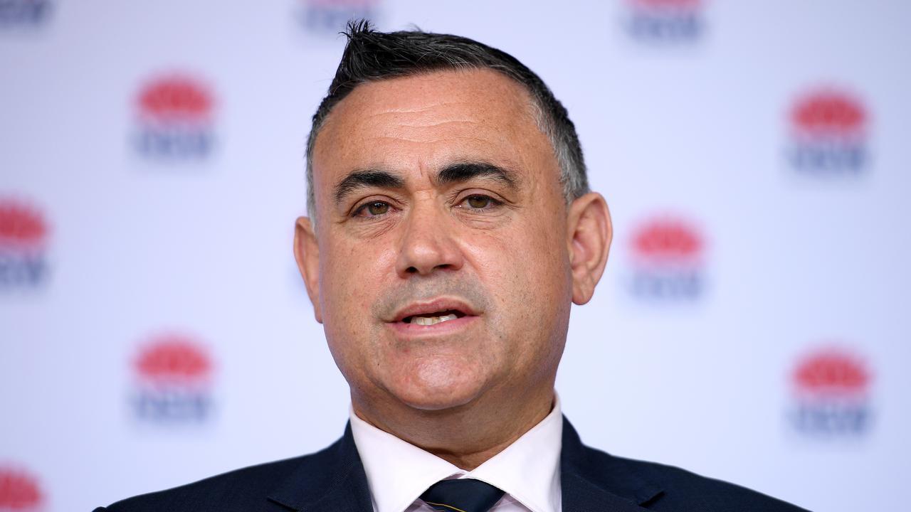 New South Wales Deputy Premier John Barilaro