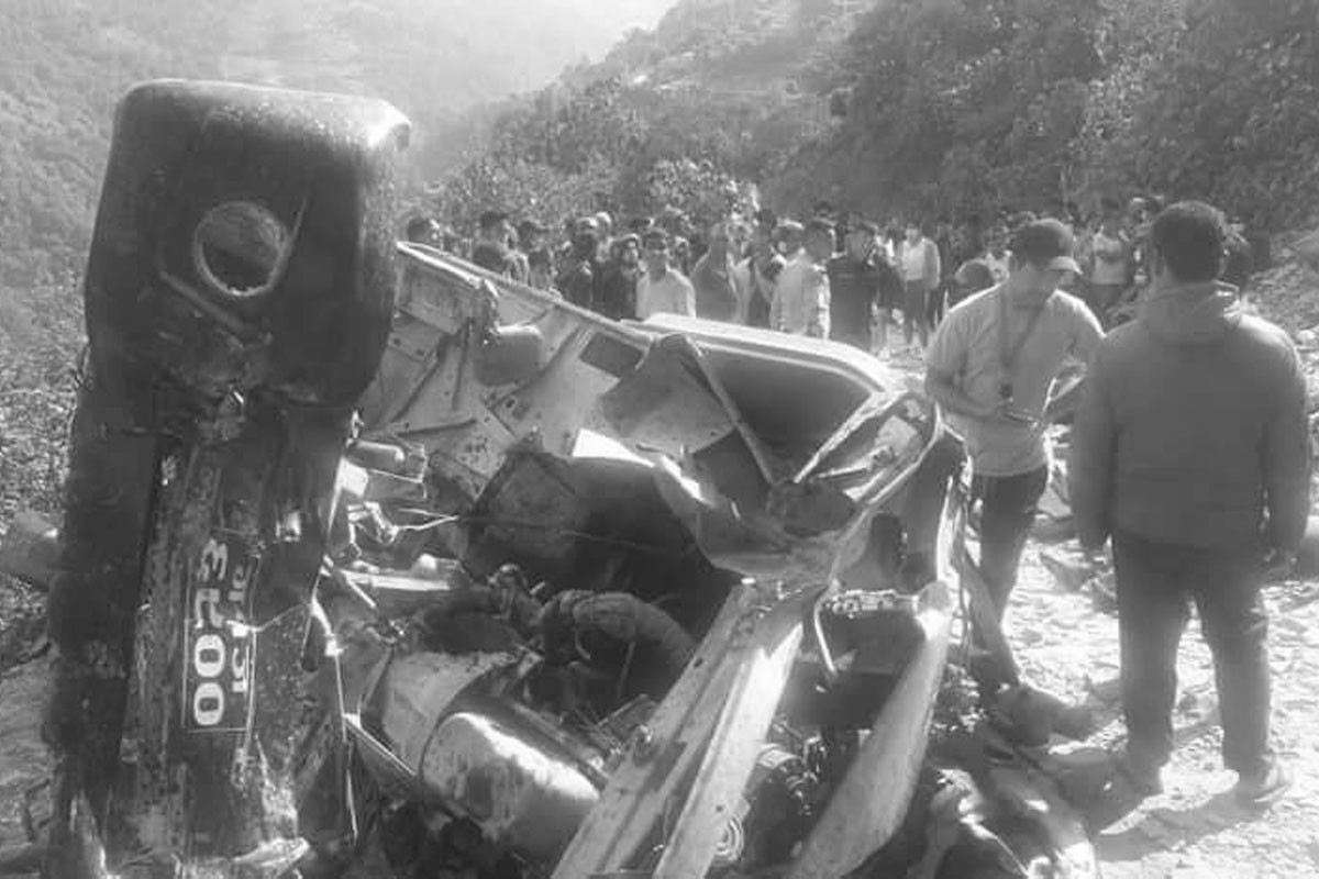 At least 44 people killed in Nepal bus crash